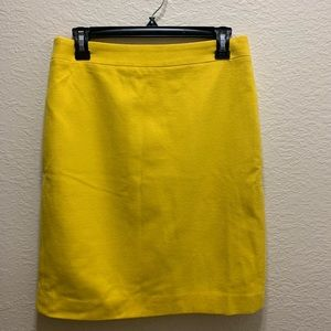 Wool J Crew Pencil Skirt